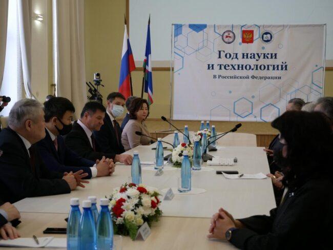 Торжественное собрание научной общественности, посвященное празднованию Дня российской науки