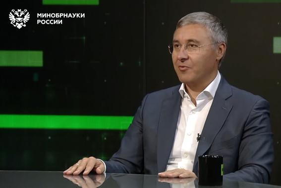 Видеопоздравление Министра науки и высшего образования Российской Федерации Валерия Николаевича Фалькова