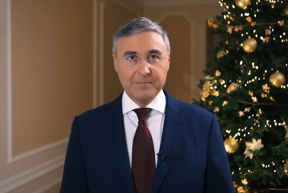 Поздравление Министра науки и высшего образования РФ Валерия Фалькова с Новым годом!