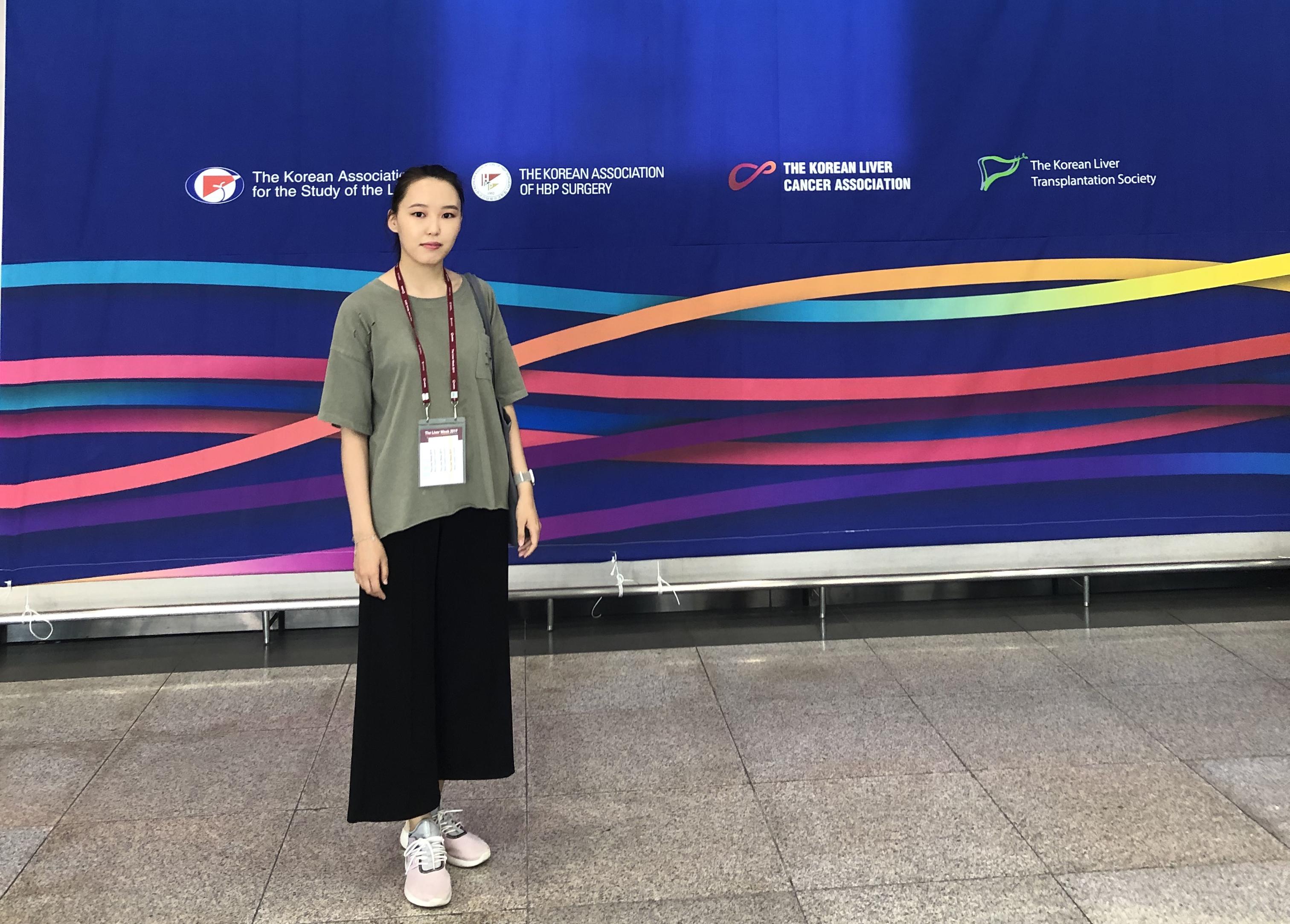 Младший научный сотрудник ОМГ ЯНЦ КМП Дьяконова Александра Тимофеевна представила постерный доклад на «The Liver Week 2019»
