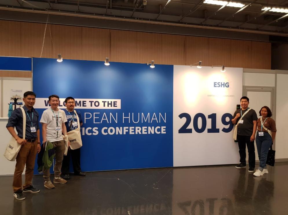 C 15 по 18 июня 2019 года сотрудники лаборатории молекулярной генетики ЯНЦ КМП и лаборатории молекулярной биологии ИЕН СВФУ им. МК. Аммосова приняли участие в 52-й международной конференции European Human Genetics Conference 2019