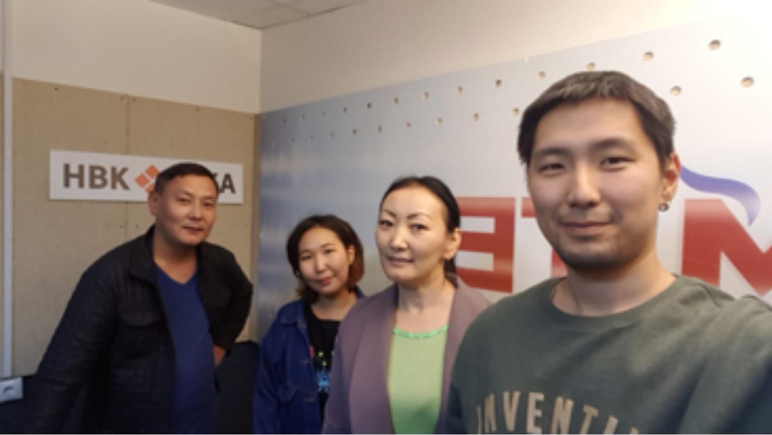 Выступление сотрудников лаборатории молекулярной генетики ЯНЦ КМП в прямом эфире радио «Тэтим»