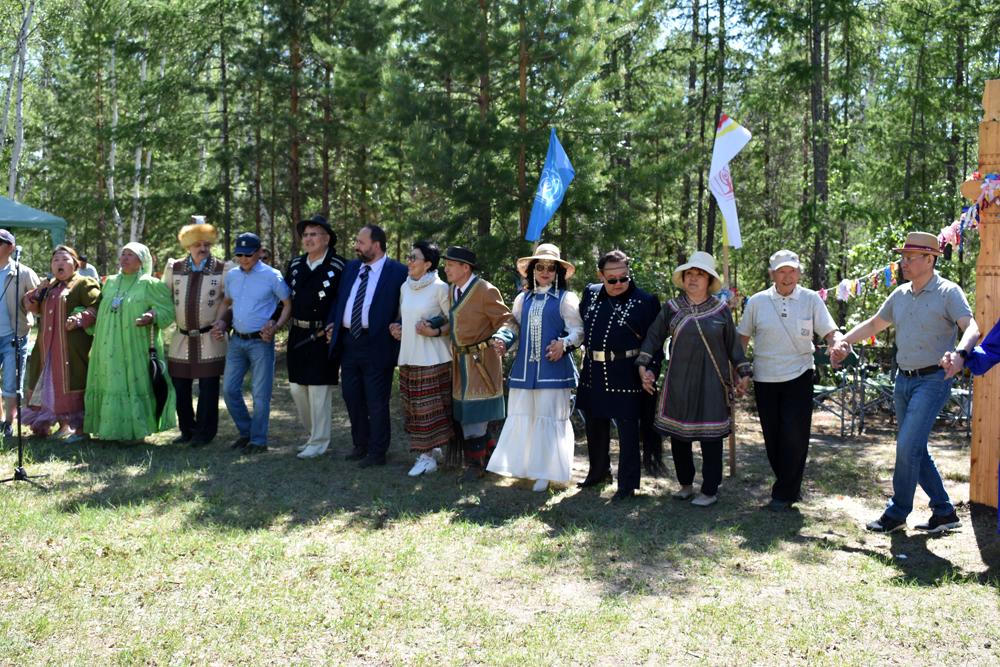 15 июня 2018 года в местности Ус Хатын прошел традиционный ысыах работников науки